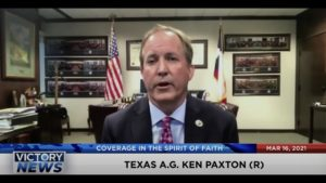 Texas A.G. Ken Paxton Answers Questions on Border, Fraud, Masks & Top Stories (Mar. 16, 2021)